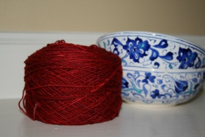 Tomato Confit Sock Yarn