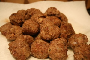 Meatballs for Winter Meatballs with Savoy Cabbage