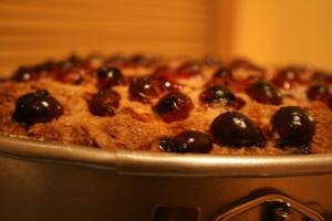 Cranberry Ricotta Cake