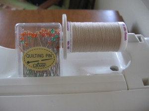 Fancy pins and thread