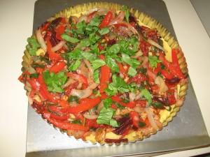 It kind of looks like a pizza.
