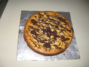 It looks so yummy... and chocolately...