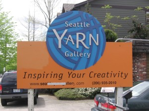 yarn gallery on California Ave