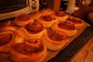 Cinnamon Buns baked