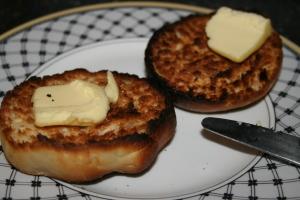 English muffins toasted I