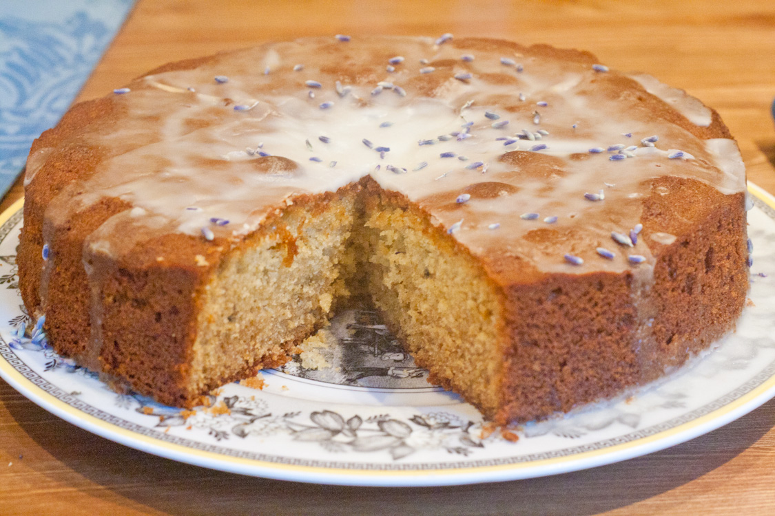 Lavender Honey Cake | Three Clever Sisters